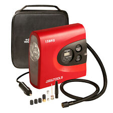 Tire Inflator Air Compressor Pump, Digital Automatic Portable 12V DC Car Bike
