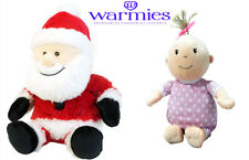 """Warmies Stress Hot Therapies Plush Spa Gifts Microwaveable Wraps 13"""" Set of 2"""