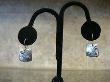 Star, Gemstones / Messages Empowering Women Ann Allen Earrings Sterling w/ 14K
