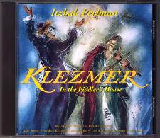 Itzhak PERLMAN: KLEZMER In the Fiddler's House EMI CD Red Itzik's Nign Basarabye