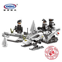 Xingbao Building Blocks Toys Gifts Construction Costs Snow Motorcycle DIY Model
