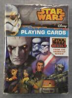 Star Wars Rebels Disney Playing Card Deck Brand New - Mint - Sealed