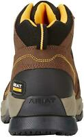 Ariat Men's Shoes Contender Steel Toe-M Leather Cap Toe Ankle, Brown, Size 12.0