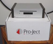 Pro-Ject CD Box DS2T CD-Player silber mit Holzwangen