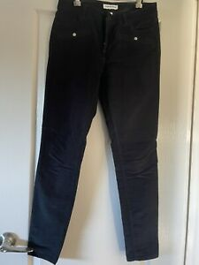 Womams Country Road Corduroy Jeans Black Size 8 Great Condition