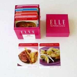 ELLE - Les fiches cuisine - 150 recettes 30mn Chrono - Vintage