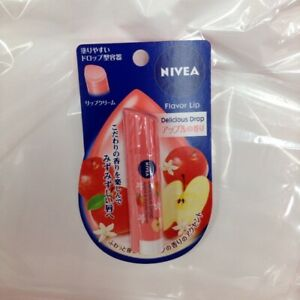 Nivea Delicious Drop Apple scent Lip Stick Balm 3.5g from Japan