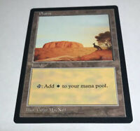 Plains APAC Blue Kangaroo NM Land Rare Magic The Gathering MTG Hard_8s_Magic
