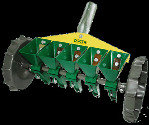 New Precision Garden Seeders Row Planter Lawn Vegetables 5 Rows