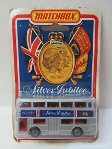 Matchbox Superfast No.17 Londoner Bus 'Silver Jubilee' - Mint/Boxed