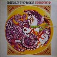 "BOB MARLEY & The Wailers CONFRONTATION promo punched RE LP 12"" Near Mint Tuff Go"