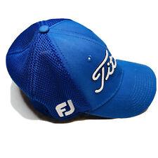 Titleist FootJoy Pro V1 Men's Golf Hat Cap Fitted Size Medium-Large Blue, White