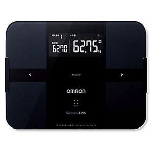 Omron Body Composition Meter Black OMRON body Scan HBF-254C-BK New