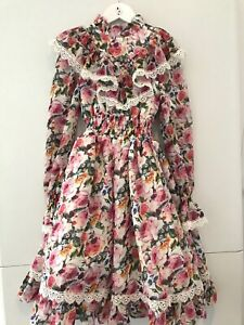 Gorgeous. Love Made Love Girls Dress. Pink Maxi. RRP €379 SALE £40 Only.