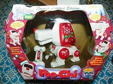 NEW Vintage 2000 LE Christmas Poo-Chi Hasbro Interactive Puppy Robi-Chi Pet RARE