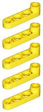 Manca il mattoncino LEGO 2825 Yellow x 5 Technic Fascio 4 x 0,5 liftarm CON BUGNA