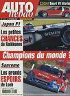 AUTO HEBDO n°1413 du 8 Octobre 2003 GP JAPON SMART coupé GT SAN REMO