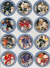 1993-94 Kraft NHL Captains Disc Set - Wendel Clark, Wayne Gretzky Etc.