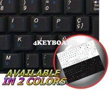 SPANISH NETBOOK KEYBOARD STICKER BLACK