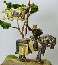 Lady Jehanne Crusaders Warlord Reaper Miniatures RPG Paladin Mounted Cavalry