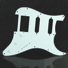 White 3 Ply Tortoise Guitar Pickguard For Fender Strat Stratocaster High Quality