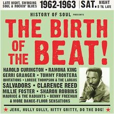 THE BIRTH OF THE BEAT 2CD - Where that Northern Soul beat came from