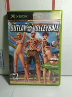 Outlaw Volleyball (Microsoft Xbox, 2003) no bonus disk Tested & Working