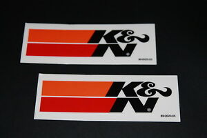 K&N KN K und N Aufkleber Sticker Luftfilter Racing Decal Bapperl Kleber Logo Ö3