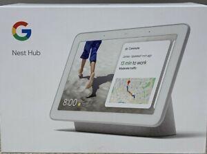 Google Nest Home Hub Smart Speaker w/ Built In Google Assistant Chalk GA00516-US
