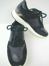 Cole Haan Grand OS Wedge Sneaker Women Black Leather Size 8.5B  W12561