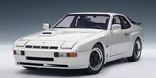 1/18 AUTOart 1980 PORSCHE 924 CARRERA GT argent culte