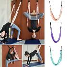 KQ_ Gym Hanging Inversion Swing Aerial Yoga Hammock Stretcher Band Belt Reliable