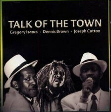 CD album Gregory Isaacs Dennis Brown Joseph Cotton talk of the town 90`s