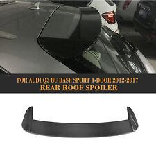 Rear Trunk Spoiler Boot Lid Wing Fit for Audi Q3 4-Door 2012-2017 Carbon Fiber
