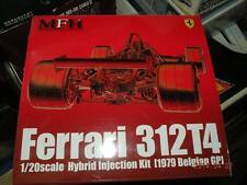 MODEL FACTORY HIRO MFH 1/20 F1 FERRARI 312T4 HYBIRD VER. BELGIAN GP KIT