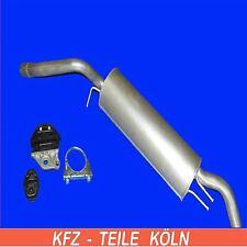 FIAT STILO Multi Wagon (Kombi) 1.4 1.6 1.9D 1.9JTD Endschalldämpfer + Set