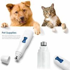 Professional Pet Dog CAT Nail Trimmer Grooming Grinder Electric Clipper Tool Kit