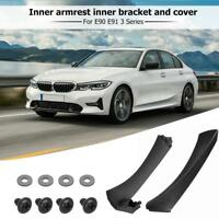Left Side Inner Front Door Panel Handle Pull Trim+Cover for BMW E90 E91 3 Series