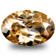 1.44 ct Oval Cut (8 x 6 mm) White Zircon Stone-YEAR END CLEARANCE SALE-FREE SHIP