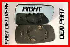 BMW E46 COUPE 323ci 1998-00 WING MIRROR GLASS BLUE  ELECTRIC/HEATED DRIVER
