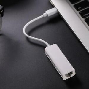 USB-C 3.1 auf RJ45 Ethernet Lan Adapter Hub Kabel Mac USB C Netzwerk NEU