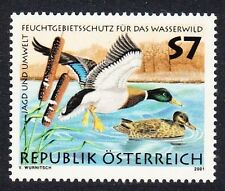 Austrian Stamps with Birds