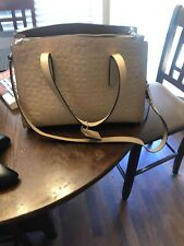 Coach Charlie Carryall Women's Large Crossbody Bag - Chalk/Silver