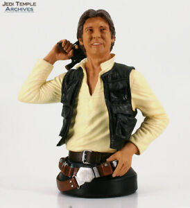 Star Wars Gentle Giant Han Solo Bust (ANH) #5663/8000 | 2005