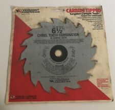 """Vermont American 27601 Steel Cutting Carbide Tipped Saw Blade 6-1/2"""" 30 Teeth"""