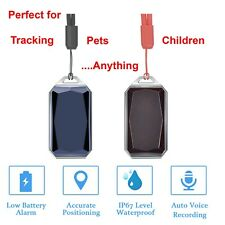 Rechargeable GPS Tracker Lightweight Activity Tracker. Waterproof NO MONTHLY FEE