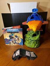 Vintage MOTU He-Man ~ Point Dread Talon Fighter, with cardboard & record
