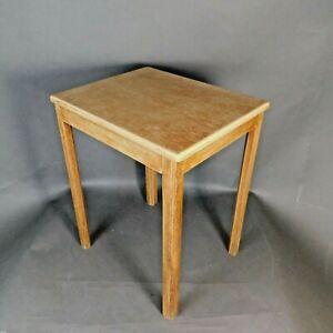 A.H.McIntosh & Co Ltd Side/Coffee Table Vintage Dated Jan 1972 Sig BB RTG/LB
