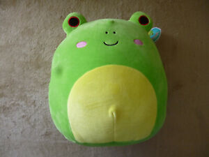 """Squishmallow Original Squad 12"""" Wendy Green Frog Spring Summer 2021"""