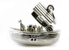 STERLING SILVER OPENING NOAH'S ARK CHARM